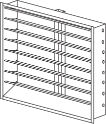 Adjustable Louver Drawing