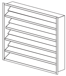 Fixed Louver Drawing