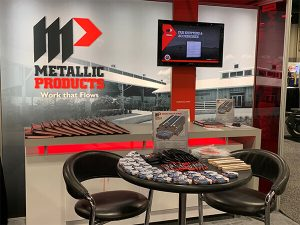Metallic Products looks forward to seeing you at MetalCon 2019