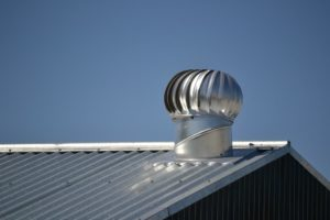 energy efficiency with a turbine vent